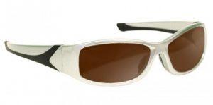DH83 Filter Laser Safety Glasses - Model #808 - Silver