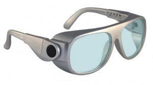 AKG-5 Holmium/Yag/Co2 Laser Safety Glasses - Model #66 - Silver
