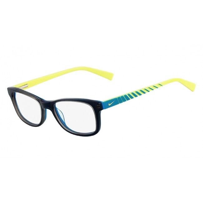 dc7c86f8be8 Nike 5509 Radiation Protection Glasses - Grey   Blue   Cyber Green