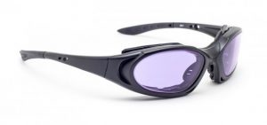 Model 1171 Glassworking Safety Glasses - Phillips 202 ACE - Black