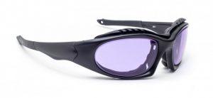 Model 1362 Glassworking Safety Glasses - Phillips 202 ACE - Black