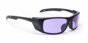 Model 1387 Glassworking Safety Glasses - Phillips 202 ACE - Black
