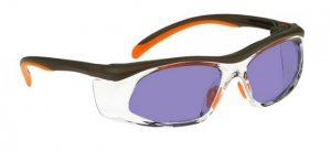 Model 206 Glassworking Safety Glasses - Phillips 202 ACE - Orange Brown