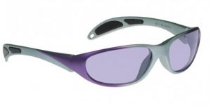 Model 208 Glassworking Safety Glasses - Phillips 202 ACE - Purple Grey