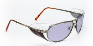 Model 600 Glassworking Safety Glasses - Phillips 202 ACE - Gold