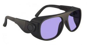 Model 66 Glassworking Safety Glasses - Phillips 202 ACE - Black