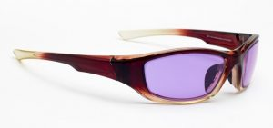 Model 703 Glassworking Safety Glasses - Phillips 202 ACE - Brown Fade
