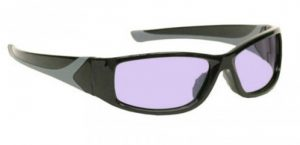 Model 808 Glassworking Safety Glasses - Phillips 202 ACE - Black