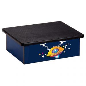 Step Platform - Pediatric - Fun Space Alien