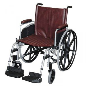 "20"" Wide MRI Non-Ferromagnetic Wheelchair"