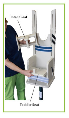 Pedia-Poser Pediatric X-Ray Positioning Chair