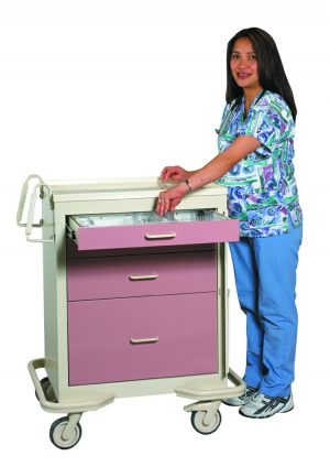 Emergency Crash Cart - Standard 4 Drawer