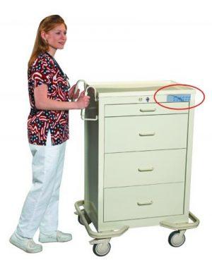 Anesthesia Crash Cart - Standard Series 4 Drawer - Locking