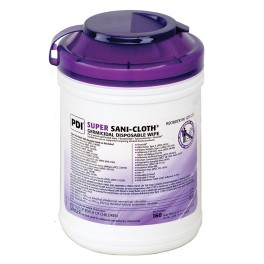 SANI-CLOTH Disinfecting Super Wipes (Purple Top)
