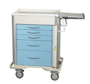 Emergency Crash Cart - Select Series 5 Drawer