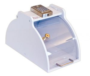 Electronic Medication Lock Box - Clear Front