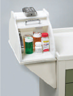 Electronic Lock Box Shelf