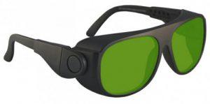 Alexandrite Diode YAG Advanced Laser Safety Glasses - Model #66 - Black