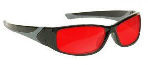 Argon Alignment 3 Laser Safety Glasses - Model #808 - Black