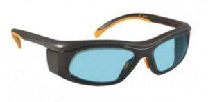 YAG, Alexandrite Diode, Holmium Laser Safety Glasses - Model 206 - Black and Orange