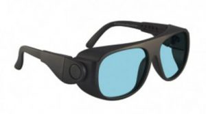 YAG, Alexandrite Diode, Holmium Laser Safety Glasses - Model 66 - Black