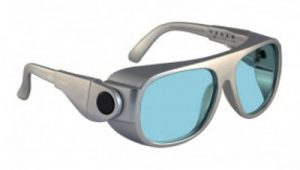 YAG, Alexandrite Diode, Holmium Laser Safety Glasses - Model 66 - Silver