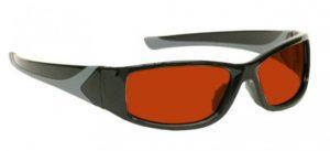 YAG Argon Alignment Laser Safety Glasses - Model #808 - Black
