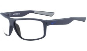 Nike Premier 8.0 Radiation Protection Glasses - Matte Blue / Grey Gunmetal