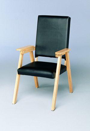 Model 157 - Geri-Chair (Black Upholstery)