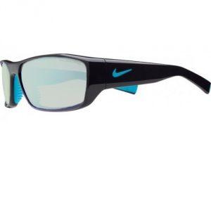 Nike Brazen Glassworking Glasses - Black/Blue - Light Green