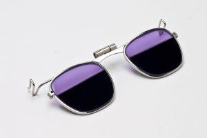 Clip-On Split Lens Glass-Working Safety Glasses
